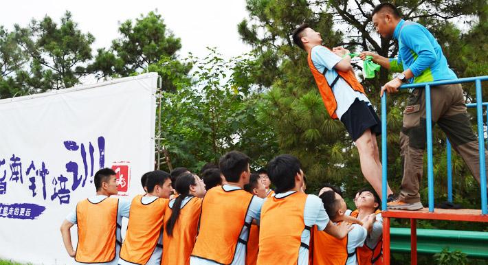 拓展培训项目:信任背摔